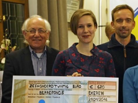 GVA – Handelaars schenken cheque aan Berrefonds