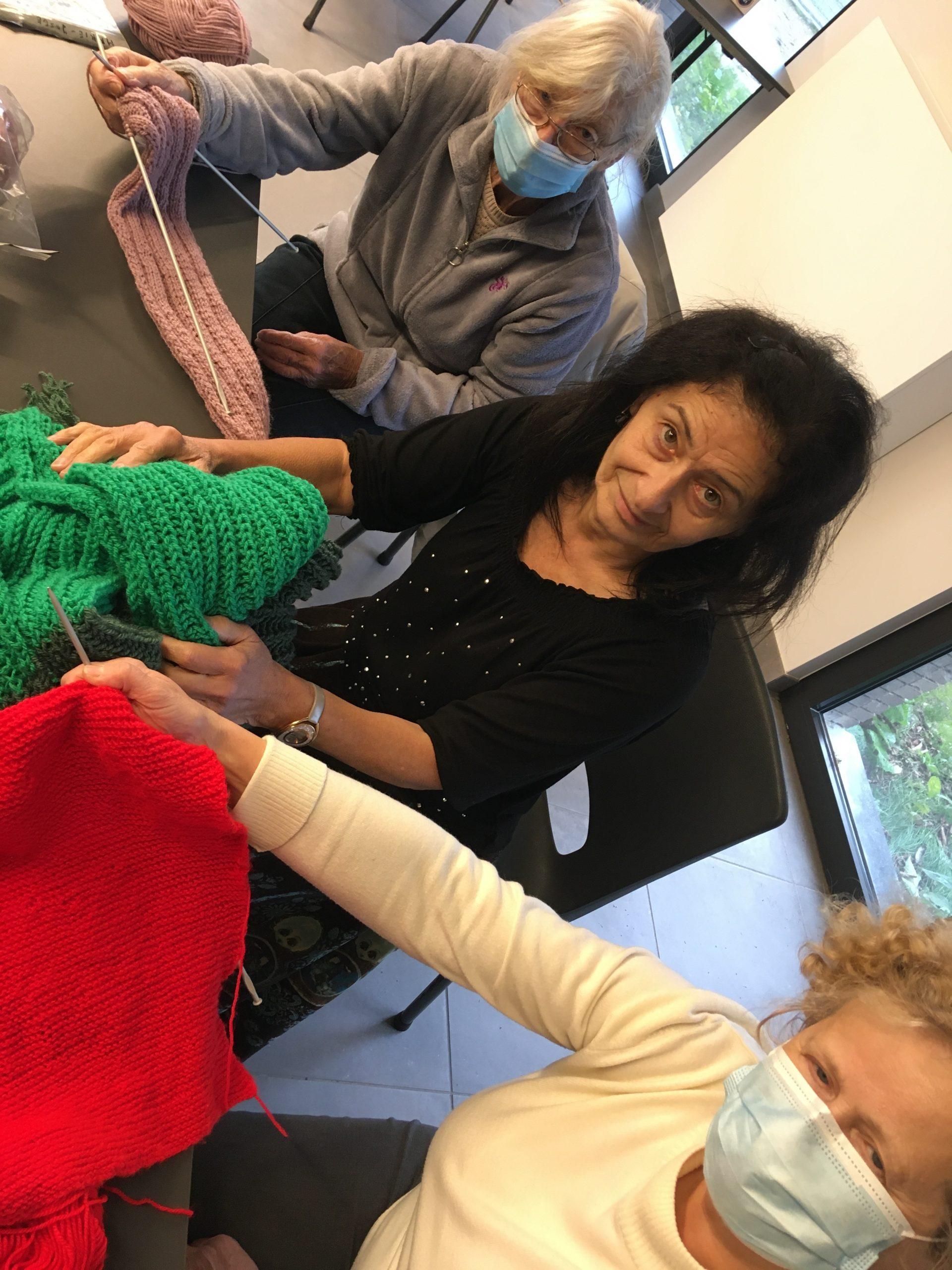 Marie-José, Tina en Christa van Open school Tongeren
